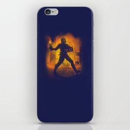 Riot Cop iPhone Skin