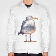 Seagull print Hoody