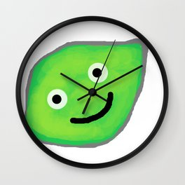 Happy Lime for a Happy Time Wall Clock