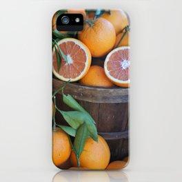 Juicy Citrus iPhone Case