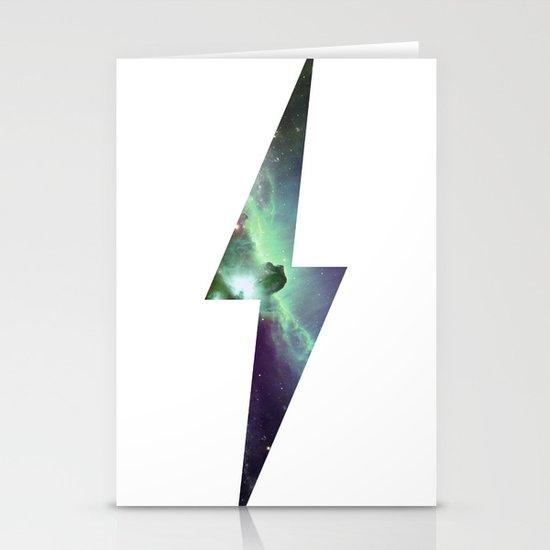 Cosmic Bolt Stationery Cards