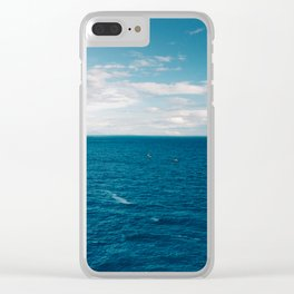 Positano Morning II Clear iPhone Case