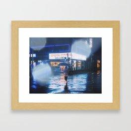 Cross the Light Framed Art Print