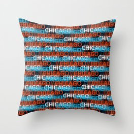 Chicago on my mind Throw Pillow