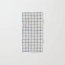 BASIC | Criss Cross Blue Hand & Bath Towel