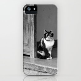 who are you? iPhone Case
