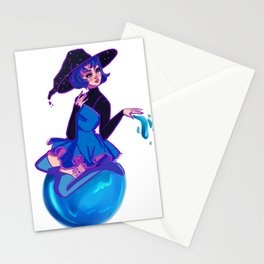 Mercury Witch Stationery Cards