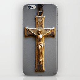 Crucifix iPhone Skin