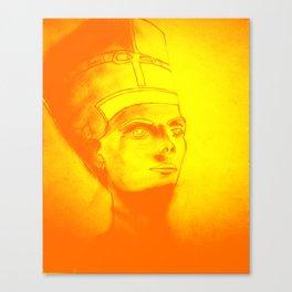 Golden Pharaoh Canvas Print