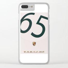Porsche 550 Spyder Clear iPhone Case