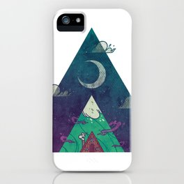 At the Cabin iPhone Case