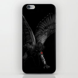 winged winter soldier iPhone Skin