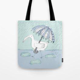 umbrella bird Tote Bag