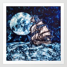 the jolly roger Art Print