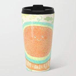 Bloom and Grow Metal Travel Mug