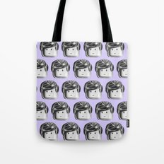Minifigure Pattern - Violet Tote Bag