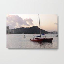 Hawaii in the morning-Traveling series Metal Print