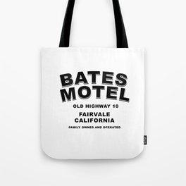 Psycho inspired Bates Motel logo Tote Bag
