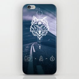 Never give up! iPhone Skin