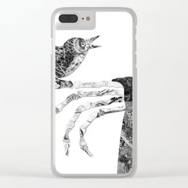 Death and the Nightingale Clear iPhone Case