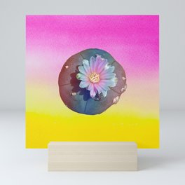 "Lophophora ""Peyote"" Williamsii Mini Art Print"