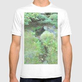 Japanese Tea Garden Hidden Stream T-shirt