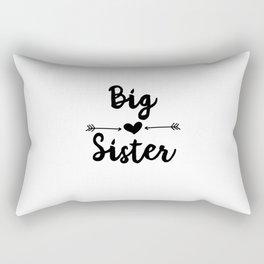 Big Sister Rectangular Pillow