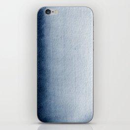 Indigo Vertical Blur Abstract iPhone Skin