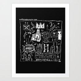 BASKEY BFLO Art Print
