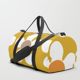 Spring Daisies on Yellow Duffle Bag