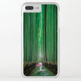 Arashiyama, Kyoto Japan Clear iPhone Case