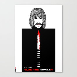 Vlad The Impaler - Cinerama Collection  Canvas Print