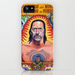 Danny Machete Trejo iPhone Case