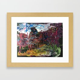 Dreaming in technicolour Framed Art Print
