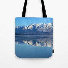 Turnagain Arm Mirror - Alaska Tote Bag