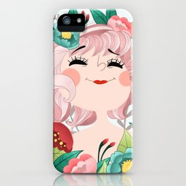 Miss joie iPhone Case