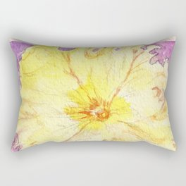 Petunia Seed Packet Rectangular Pillow