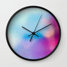 BLUR / morning dew Wall Clock