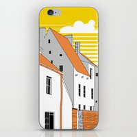 medieval iPhone & iPod Skins featuring Medieval houses by LaDa