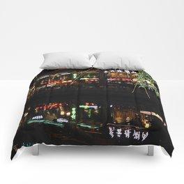 Beijing Reflection 1 Comforters