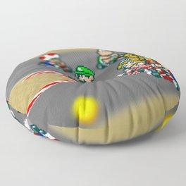 Mario Circuit Floor Pillow