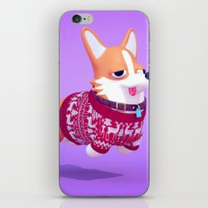 Dogs In Sweaters: Corgi iPhone & iPod Skin