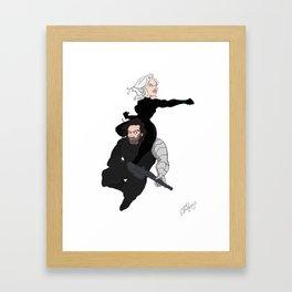 Bucky Nat Framed Art Print