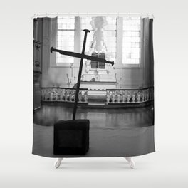 St. George's Cross Shower Curtain