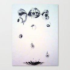 Eyes n' Mouths Canvas Print