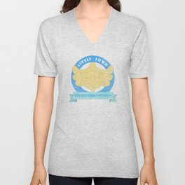 Lively Town Expedition Society Unisex V-Neck
