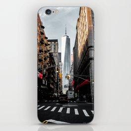 Lower Manhattan One WTC iPhone Skin