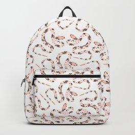 Garden Snake | Pale Pink Backpack