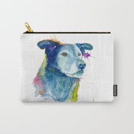 Déjà The Border Collie and something amazing Carry-All Pouch