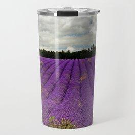 Lavender Landscape Travel Mug